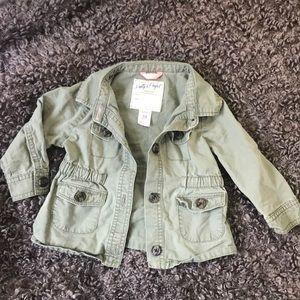 18 month girls utility jacket